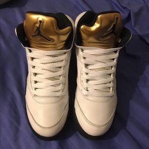 Jordan 5s size 8 men's